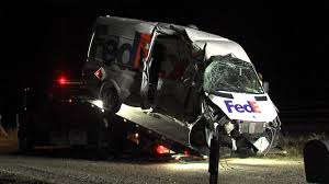 100 Fedex Truck Accident FedEx Truck Driver Dies After Accident Involving Train KXXV