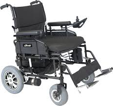 Bariatric Transport Chair 24 Seat by Wildcat 450 Heavy Duty Folding Power Wheelchair Drive Medical