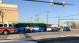 First Crash Involving GRTC Pulse Bus
