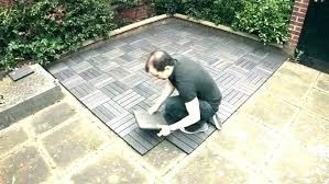 Cheap Outdoor Flooring Inexpensive Ideas Easy Patio Options Full