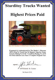 100 Antique Truck Values Sturditoy Identification Guide