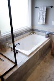 Chandelier Over Bathtub Soaking Tub by Drop In Soaker Tubs Are Usually Deck Mounted With Tile Splash All
