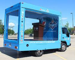 Custom Glass Box Trucks | Experiential Marketing Event | Lime Media