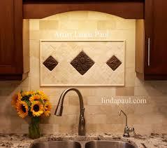 Accent Tiles For Kitchen Backsplash Aspen Leaves Metal Tile 4x4