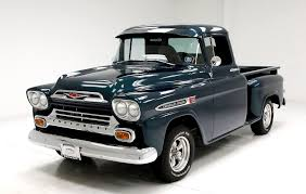 100 Apache Truck For Sale 1959 Chevrolet Pickup For Sale 134021 MCG
