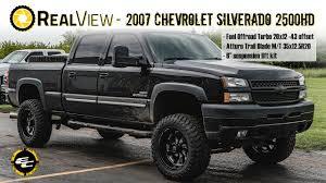 RealView - Lifted 2007 Chevy Silverado 2500HD W/ 20