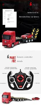 Rastar Mercedes Benz Rc Electric Mini Truck - Buy Electric Truck ...