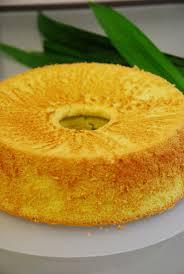 a of everything pandan chiffon cake
