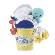Amazon Com 4 Piece Baby by Amazon Com Baby Aspen Beach Buddies 3 Piece Bathtime Bucket