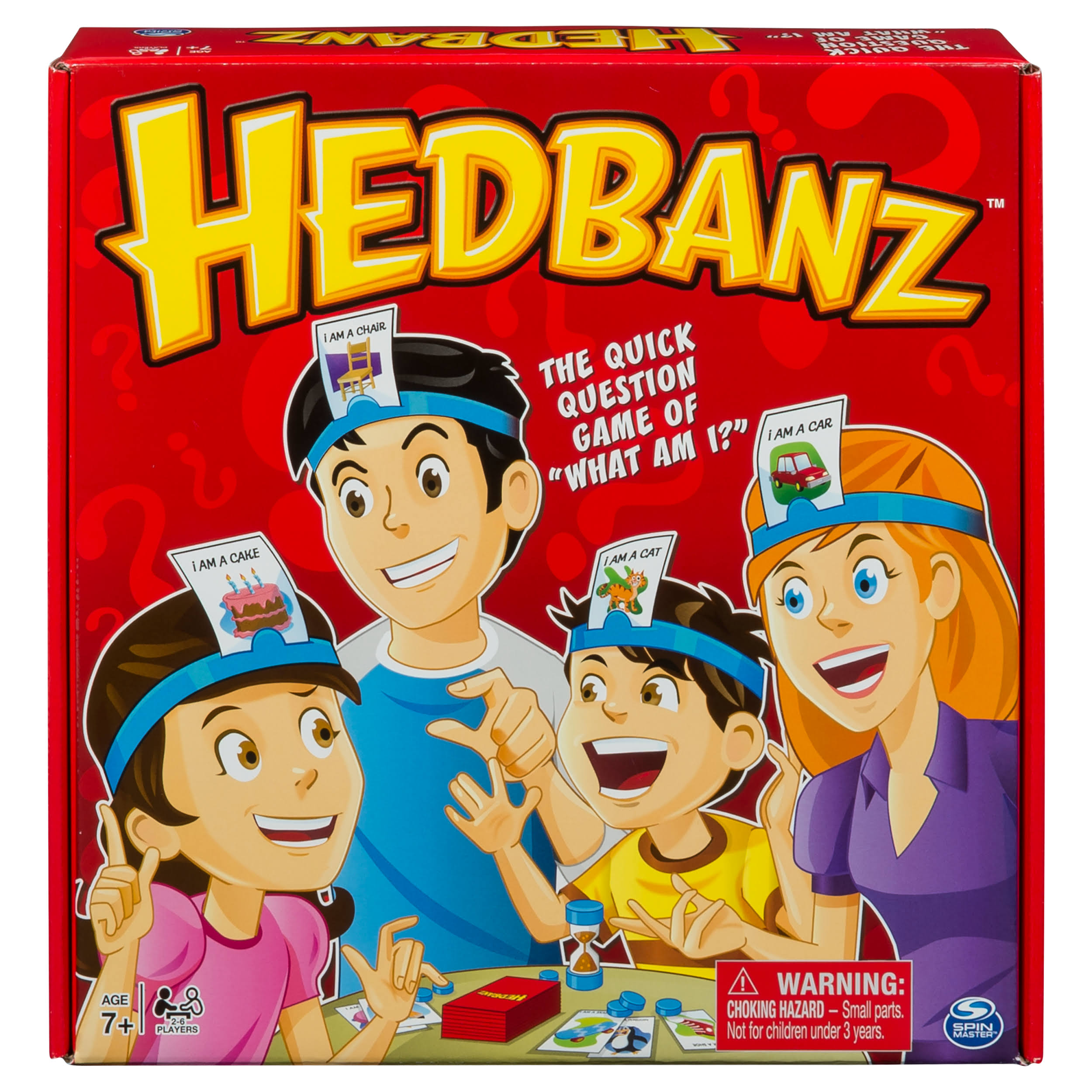 Spin Master Hedbanz Board Game