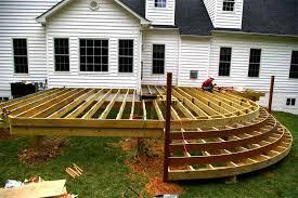 Backyard Deck Designs Plans fine Patio Design Ideas And
