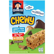 Quaker Chewy Chocolate Chip Peanut Butter Granola Bars