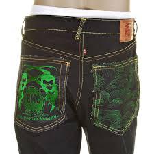 rmc jeans mens slim fit red line selvedge denim jeans