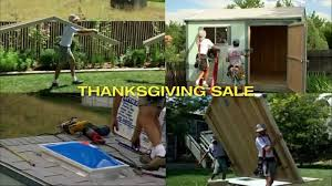 Home Depot Tuff Shed Commercial by Tuff Shed Thanksgiving Sale Tv Commercial U0027get Blown Away U0027 Ispot Tv