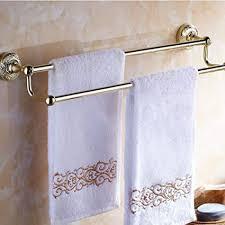 zhuowei antik bronzefarbener handtuchhalter doppelter handtuchhalter mit keramik finish badezimmer accessoires badezimmer accessoires antik küche
