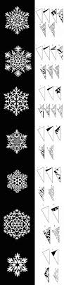 DIY Paper Snowflakes Templates Projects