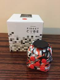 Camouflage Red Fidget Cube Squeeze Fun Stress Reliever Christmas Gift Anxiety Plastic Hot Sale