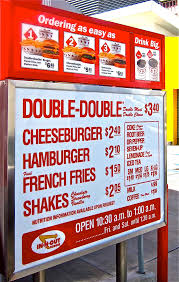In-N-Out Burger's