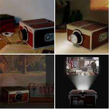 Cardboard Smartphone Projector 2 0 Mobile Phone Projector Cinema