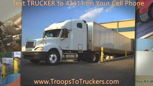 CDL Schools | Troops To Truckers.com - YouTube Ways To Ppare For Trucking School Cr England Ats Truck Driving Schools In Los Angeles Schneider Sergio Provids Cdl Attempting Fix Americas Driver Shortage Southern Missouri Fmcsa Unveils Driver Traing Rule Proposal Sets Up Core Rriculum Usa Sacramento Empire 108 S High Demand Those In Trucking Industry Madison Wisconsin Ldonsarnia 5th Wheel Traing Heres What You Need Know About Crst Expiteds Program Albany Or How Get A Government Grant Cdl