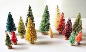 Fancy Pants Designs Merry And Bright 2 Inch Bottle Brush Trees