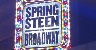 Bruce Springsteen on Broadway The opening night front row ticket
