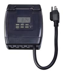smart electrician outdoor 7 day heavy duty digital timer at menards
