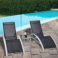 Orren Ellis Jose 3 Piece Outdoor Patio Pool Lounger ... Colorful Stackable Patio Fniture Lounge Chair Alinum Costway Foldable Chaise Bed Outdoor Beach Camping Recliner Pool Yard Double Es Cavallet Gandia Blasco Details About Adjustable Pe Wicker Wcushion Hot Item New Design Brown Sun J4285 Luxury Unopi Best Choice Products W Cushion Rustic Red Folding 2pcs Polywood Nautical Mahogany Plastic Awesome Modern Remarkable Master Chairs Costco