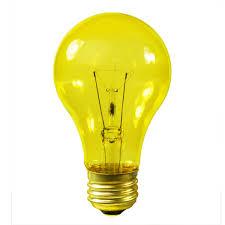 Satco Led A19 Lamps by Satco S6083 25 Watt Yellow Bulb