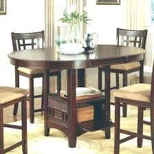 Tall Dining Table High Kitchen Counter Height Chair Beautiful Round