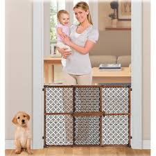 Summer Infant Decorative Extra Tall Gate by Summer Infant Secure Pressure Mount Wood And Plastic Deco Gate