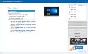 Download ISO files and disc images with any version of Windows and