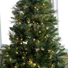 Dunhill Fir Pre Lit Christmas Tree by 7 Ft Pre Lit Led Emerald Pine Christmas Tree With Bluetooth Multi
