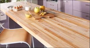 table bois plan de table de cuisine en bois massif