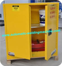 Flammable Liquid Storage Cabinet Canada by Industrial Safety Fire Resistant File Cabinet Yellow For Flammable