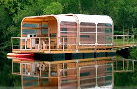 chambre flottante floating buildings aquashell