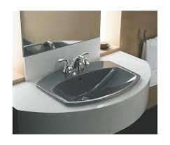 Kohler Overmount Bathroom Sinks by Faucet Com K 2351 4 0 In White By Kohler