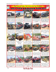 Truck Equipment Post 38 39 2014 By 1ClickAway - Issuu Ricks Truck And Equipment Semi Sales Kenton Oh Dealer How To Turn Your Pool Into A Waterpark Oasis Vehicles Equipment Act Fire Rescue Bangshiftcom Gallery Awesome Ads For Trucks Circa Magazines Convience Central Avenel Inc Home Facebook Daimler Delivers First Electric Trucks Ups Electrek Twopost Car Lifts And Have Been Found In The Finest Post 34 35 2015 By 1clickaway Issuu