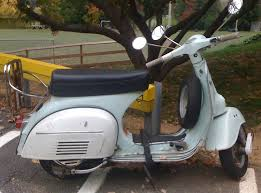 Zdepskis Photo Of An Old Vespa Scooter