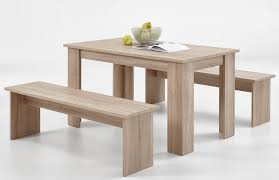 tischgruppe esstisch tisch bank 4 x klemmkissen esszimmer