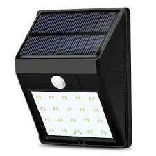 leadingstar outdoor solar wall lights 20 led bright motion