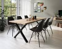 vidaxl esszimmerstühle 4 stk schwarz samt
