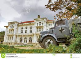 German WW2 Truck - Movie Scene In Bitola, Macedonia Editorial ...