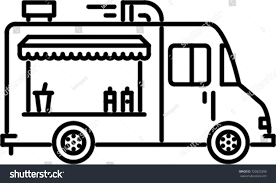 Food Truck Outline Icon Stock Vector (Royalty Free) 720823390 ... Simple Outline Trucks Icons Vector Download Free Art Stock Phostock Garbage Truck Icon Illustration Of Truck Outline Icon Kchungtw 120047288 Dump Royalty Image Semi On White Background F150 Crew Cab Aliceme Isometric Idigme Drawing 14 Fire Rcuedeskme Lorry Line Logo Linear