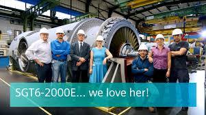 Dresser Rand Singapore Jobs by Sgt6 2000e Heavy Duty Gas Turbine 60 Hz Gas Turbines Siemens