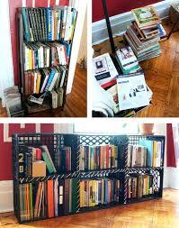 Diy Milk Crate Shelves For Bookshelves
