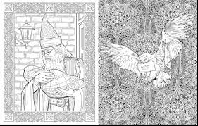 Stunning Harry Potter Coloring Book Pages With Page And