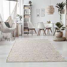 taracarpet handweb teppich oslo wolle im skandinavischem landhaus design wohnzimmer esszimmer schlafzimmer flur läufer beidseitig verwendbar 140x200