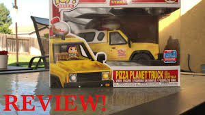 100 Pizza Planet Truck Funko Pop Ride Review YouTube
