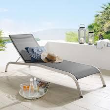 Savannah Outdoor Patio Mesh Chaise Outdoor Patio Lounge ...